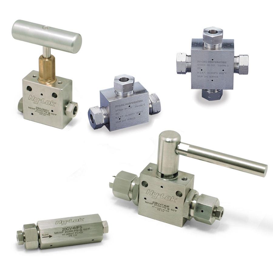 Medium-/High pressure components
